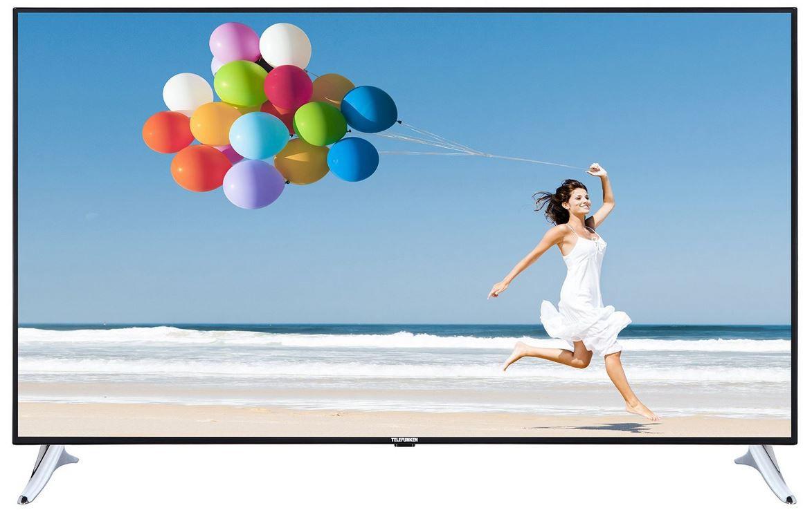 65 Zoll TV TELEFUNKEN L65F249   65 Zoll Smart WLan TV mit triple Tuner für 694€