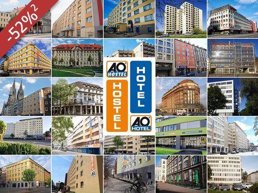 AO Hotel 3 Tage für 2 Personen im A&O Hotel (D, AT, CZ) eurer Wahl mit Frühstücksbuffet für 89€  statt 182€