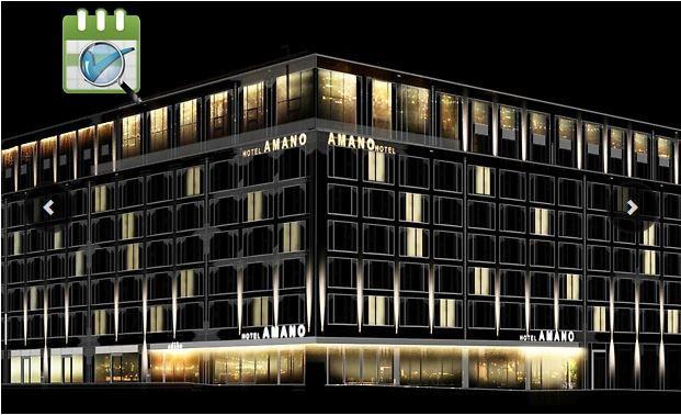 Neueröffnung: AMANO Grand Central   Design Hotel im Herzen Berlins 2 Personen ab 59€