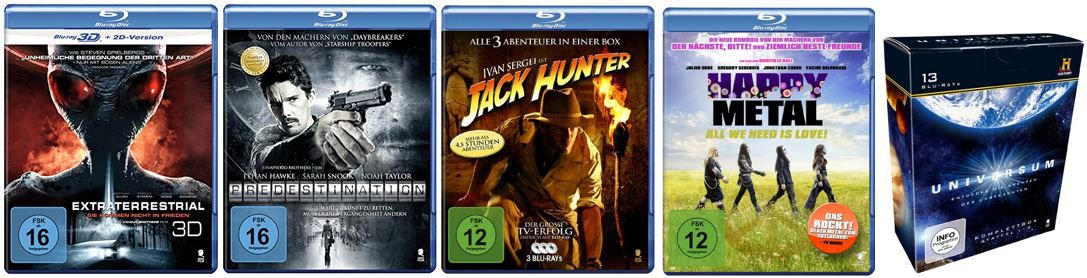 Amazon DVDs und Blu-rays
