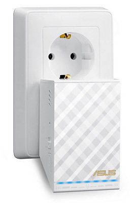 Asus RP AC52 AC750 Dual Band WLAN Repeater für 33€ (statt 45€)