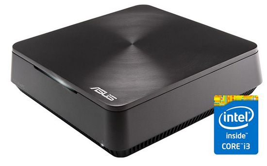 Asus Vivo VM62 G052R Asus Vivo VM62 G052R Mini Desktop PC für 333€   1,9 GHz, 4GB Ram, 500GB, Win 8.1