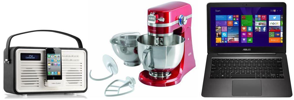 AEG Küchenmaschine UltraMix KM 4000   bei den 58 Amazon Blitzangeboten bis 11Uhr