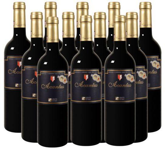 Bildschirmfoto 2015 07 23 um 11.08.35 12 Flaschen Bodegas y Viñedos Casa del Valle–Acantus für 45€ inkl. Versand