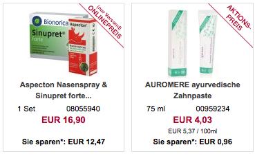 Online Apotheke apo rot: 10€ Rabatt ab 40€ MBW
