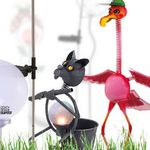 Solar LED Tier Gartenlampen & LED Solarlampen für je 9,99€