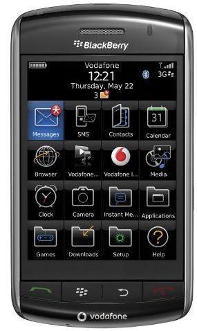 BlackBerry Storm 9500   Smartphone in neutraler Verpackung für 29,90€