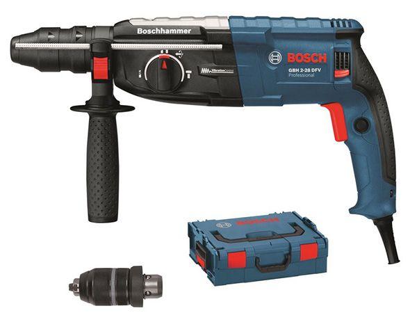 Bosch GBH 2 28 DFV Bohrhammer + L Boxx + Wechselfutter für 189,90€