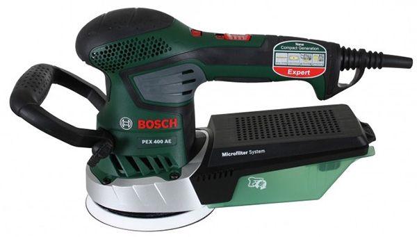 Bosch PEX 400 AE Exzenterschleifer Set im Koffer für 83,99€
