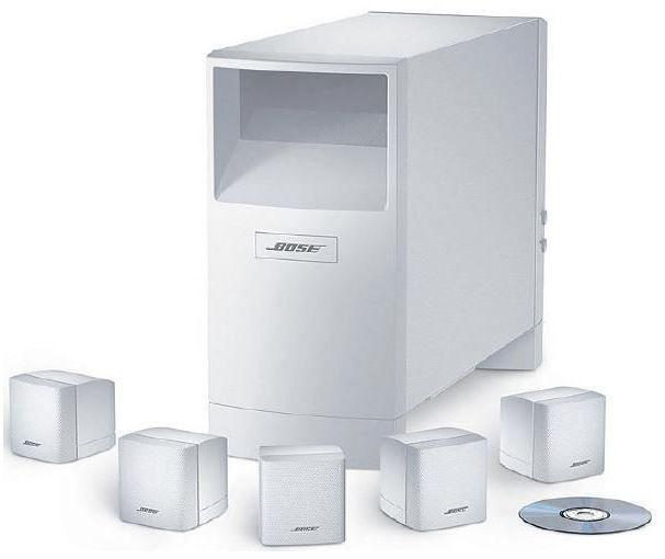 Bose Acoustimass 6 Series V weiß für 637,40€