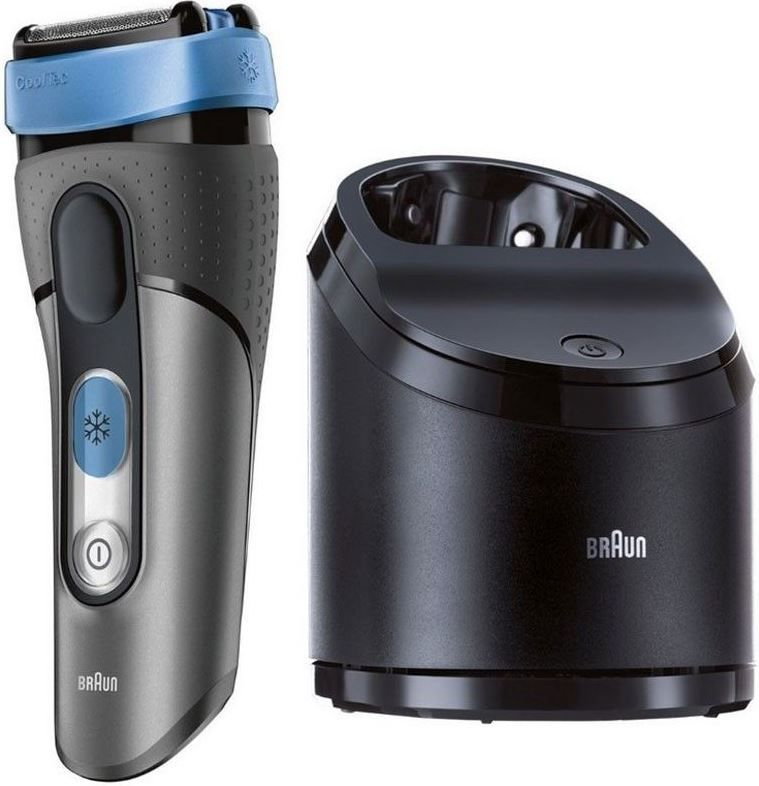 Braun CoolTec CT5CC   Nass /Trocken Rasierer mit Reinigungsstation für 119€