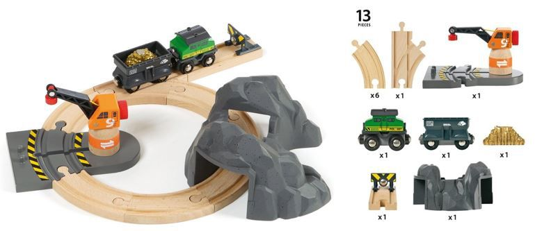 BRIO Bahn 33049   13 teiliges Goldminen Set ab 15,11€