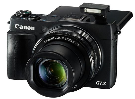 Canon PowerShot G1X Mark II Digitalkamera für 523,90€   12,8 MP, 5x opt. Zoom, Full HD, CMOS