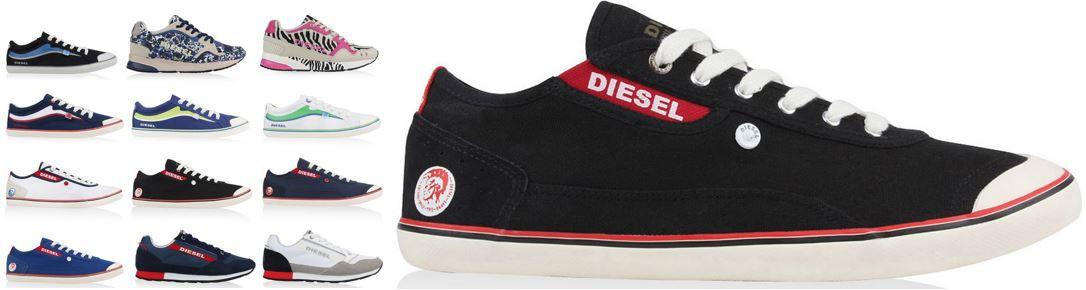 DIESEL Sneakers für Damen und Herren je Paar 49,99€