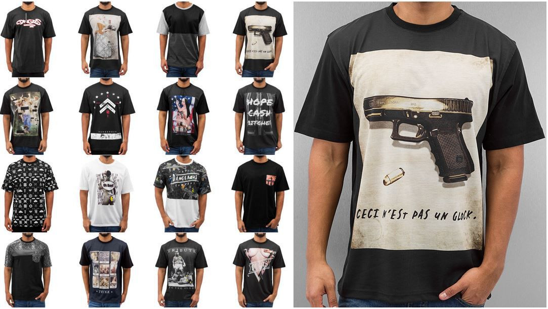 Dangerous DNGRS Dangerous DNGRS   Herren Motiv T Shirts von S bis 3XL für je 9,99€