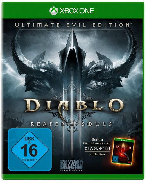 Diablo III Ultimate Evil Edition   Xbox One Game für nur 34,97€