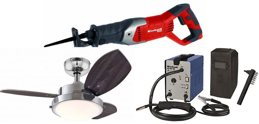 Einhell Westinghouse Lighting Deckenventilator für 89€   bei den 30 Amazon Top Blitzangeboten ab 18Uhr
