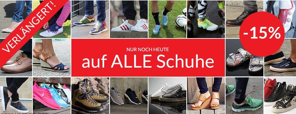 Engelhorn mit 15% Rabatt auf Sport und Fashion Schuhe   Update!