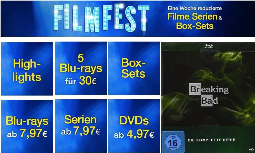 Filmfest   Eine Woche reduzierte Filme, Serien & Box Sets bei den Amazon DVD oder Blu ray Wochen Angeboten   Update!