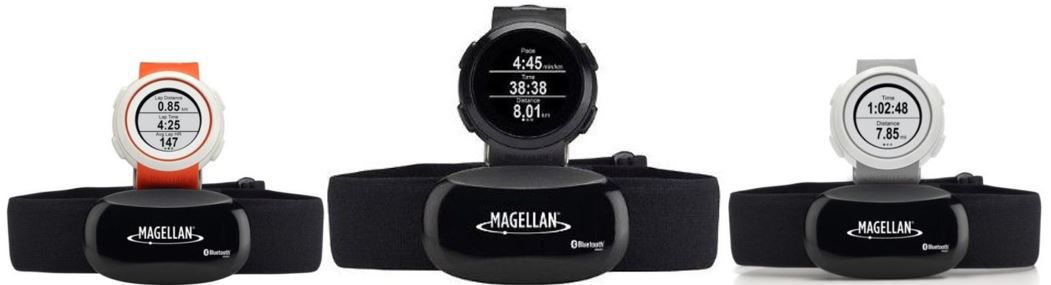 Fitness Watch Magellan Echo   Bluetooth Smart & Sportuhr mit Brustgurt für nur 44€
