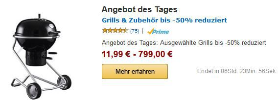 Grill Angebote