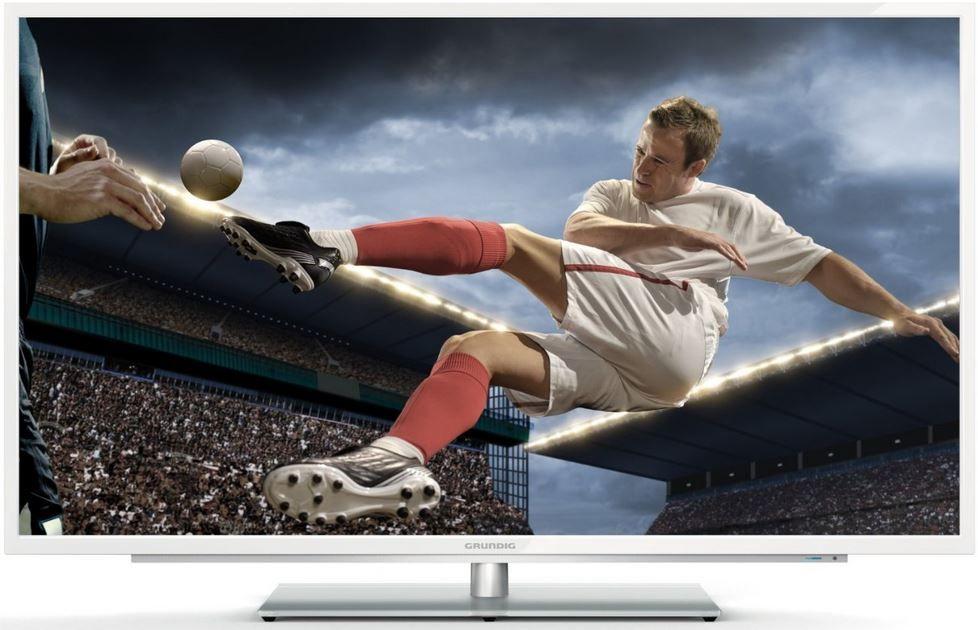 Grundig 42 VLE 9372 WL   42 Zoll 3D Smart TV mit Twin Mode Triple Tuner (PVR) für 599,99€