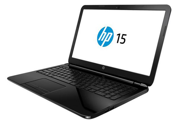 HP 15 r202ng   15 Zoll Notebook (2,7 GHz, 4GB Ram, 500GB, DOS) für 356,99€