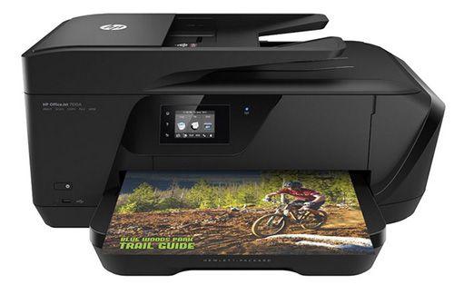 HP Officejet 7510 HP Officejet 7510 Wide Format Multifunktionsdrucker mit WLAN für 84€ (statt 98€)
