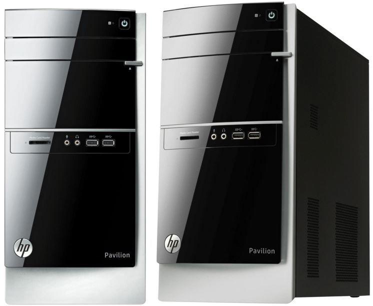 HP 500 521ng Pavilion   PC mit Quad Core 3,4 GHz, 1TB HDD, 4GB RAM, Radeon HD 7660D für 299€