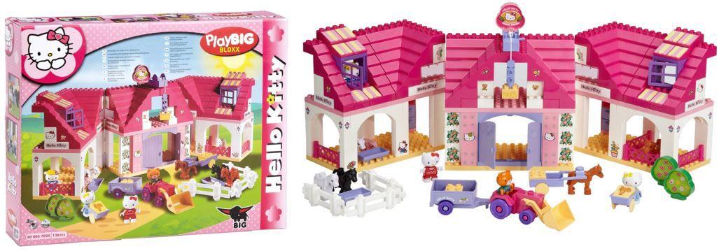 PLAY BIG BLOXX Hello Kitty Bauernhof mit 136 Teilen statt 58€ für nur 29,95€