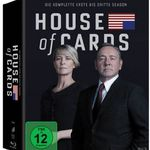 House of Cards Staffel 1-3 auf Blu-ray für 36,49€