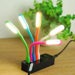 China Gadget: biegsame mini  Hot Style USB LED Leuchte für 1€