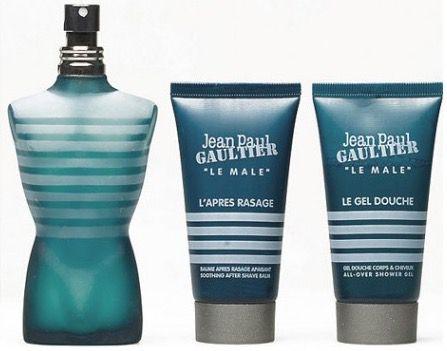 Jean Paul Gaultier Le Male Geschenkset + Gratisproben für 25,40€   Eau de Toilette 75 ml, Duschgel 50 ml, Aftershave Balm 50 ml