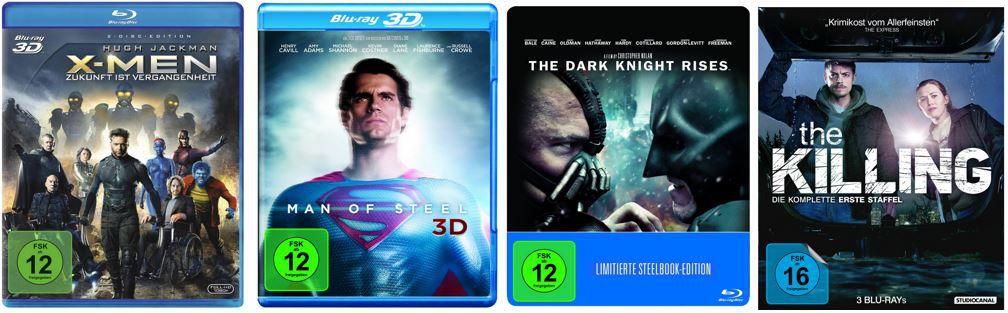 X Men: Erste Entscheidung / X Men: Zukunft ist Vergangenheit ab 12,97€ bei den Amazon DVD und Blu ray Angeboten der Woche