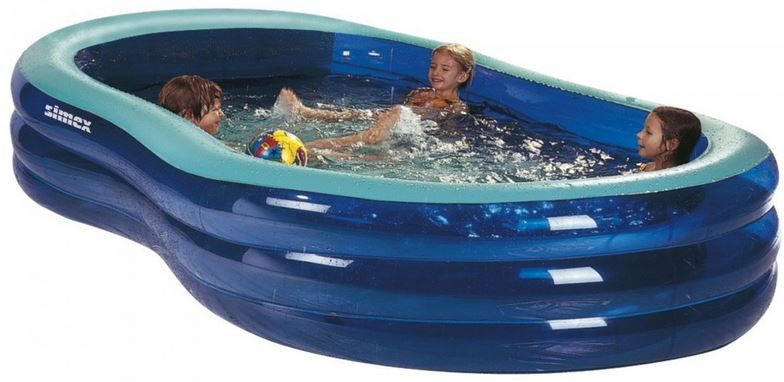 Kinderpool Simex Sport  StTropez 240   aufblasbaren Pool 240 x 152 x 53 cm für nur 34,99€