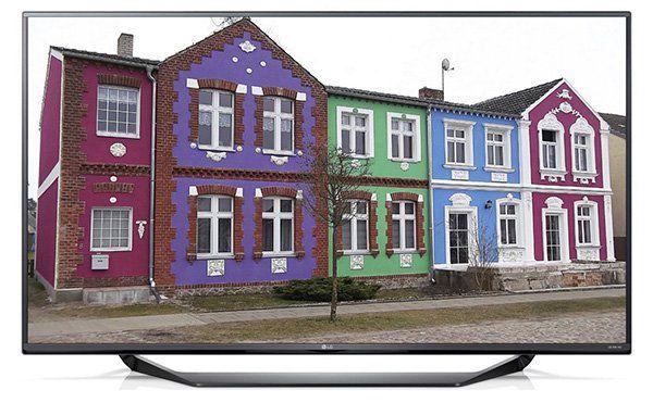 LG 55UF675V LG 49UF675V   4K UHD TV mit triple Tuner und PVR für 599€