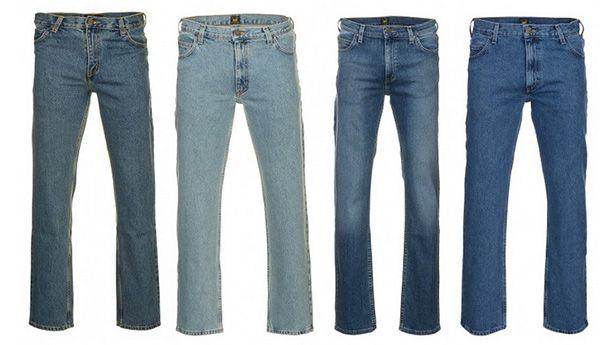 Lee Brooklyn Comfort & Brooklyn Straight Herren Jeans für 26,99€