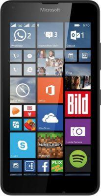 Microsoft Lumia 640   5 Zoll LTE Smartphone schwarz für 79,90€