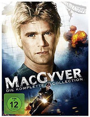 MacGyver   Die komplette Collection (38 DVDs) für 29€ (statt 50€)
