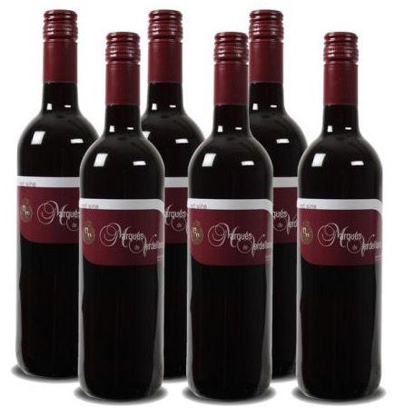 6 Flaschen Marques de Verdellano Utiel Requena DO für 22,89€