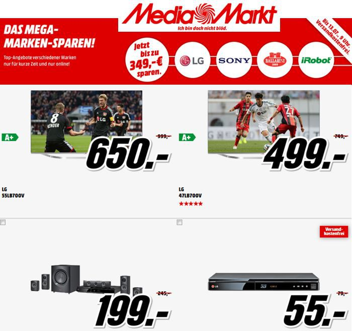 Sony HDR AZ 1 – Action Cam für 169€ im MediaMarkt: Mega Marken Sparen