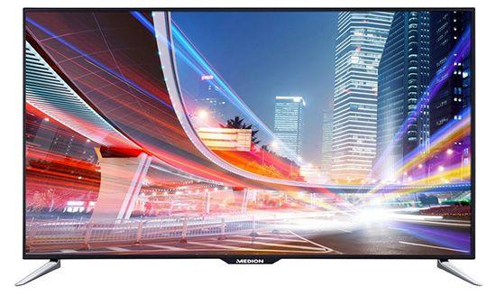 Medion Life X18030 (MD 30854)   65 Zoll Full HD Fernseher mit Triple Tuner und WLAN für 899,99€