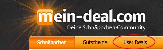 Info: User Deals werden abgeschaltet   Alternative aber in Aussicht