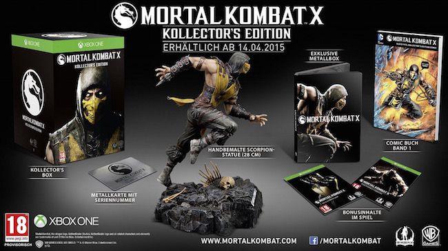 Mortal Kombat X: Kollectors Edition (Xbox One) für 79,66€