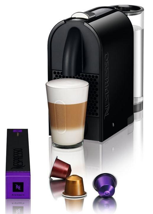 Nespresso DeLonghi EN 110.B Nespresso U Kapselmaschine  + 100 Kapseln für 66,66€