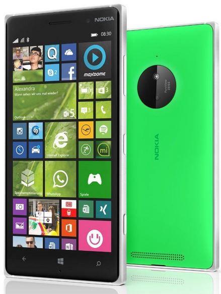Nokia Lumia 830 Windows 8.2 Smartphone in grün für 179€