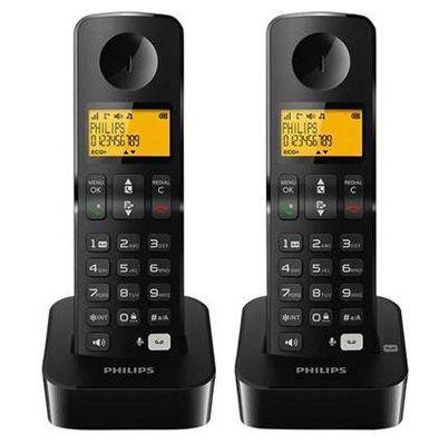 Philips B1962B/38 Schnurlose Telefone mit Anrufbeantworter für 29,44€
