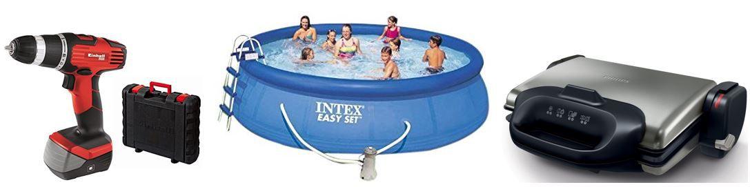 Intex Aufstellpool Easy Set Pools Ø 457 x 122 cm für 209,99€   bei den 28 Amazon Top Blitzangeboten ab 18Uhr