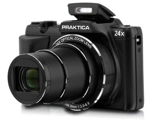 Praktica Luxmedia 16 Z24S Megazoom Digitalkamera für 94€   16 MP, 24x opt. Zoom, bildstabilisiert