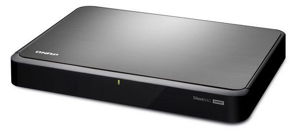 QNAP HS 210 NAS ohne Speicher für 149,90€   2 Bay, lüfterlos, 1,6 GHz, 512MB Ram